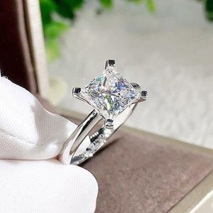 Jewelry - Princess Cut 2 Carat Princess Cut Bridal Ring